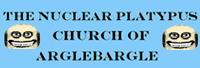 The Nuclear Platypus Church of Arglebargle Logo